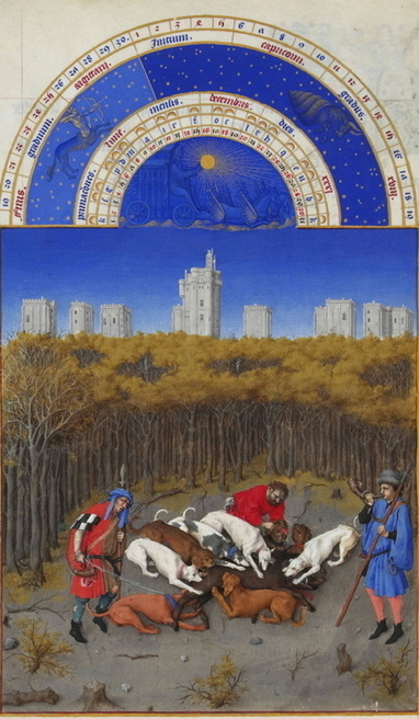 The Très Riches Heures du Duc de Berry (1416) - Online Library of Liberty | Oh, you pretty things! | Scoop.it