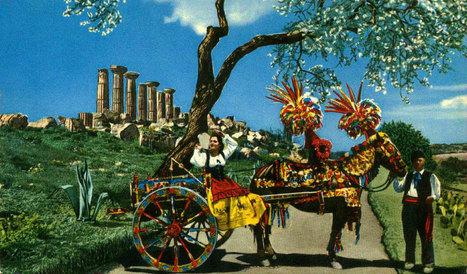Sicilian Folk Stories: Carretto Siciliano, a story book on two wheels | Italia Mia | Scoop.it