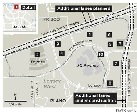 JPMorgan Chase only the latest coming to Plano's Legacy West | Texas Lots and Land | Scoop.it