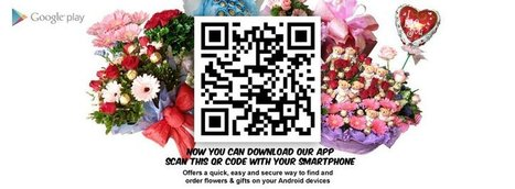 Hide Your Valentine Surprise Behind the QR Code | Malaysia Flowers | Scoop.it