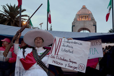Photo Essay: Following Police Eviction, Mexico's Teachers Keep Fighting for ... - Upside Down World | INCLUSIVE SCIENCES EDUCATION | Scoop.it