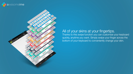 AwesomeIME-FLAT Keyboard | AwesomeIME | Scoop.it