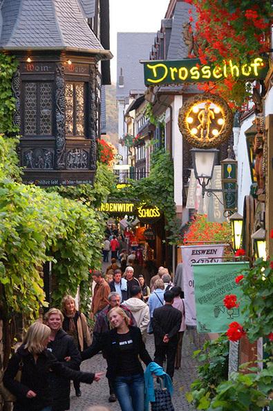Sur le Rhin romantique en rando-croisière - I-Voyages | TrendyTourism | Scoop.it