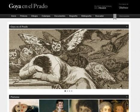 Le Musée du Prado lance son site thématique «Goya au Prado» avec 1 000 oeuvres en ligne | arts plastiques | Scoop.it
