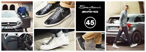 Santoni for Mercedes-AMG A45 | Le Marche & Fashion | Scoop.it