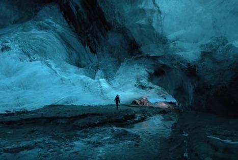 Journey Through an Icelandic Glacier Cave   spéléo   Scoop.it
