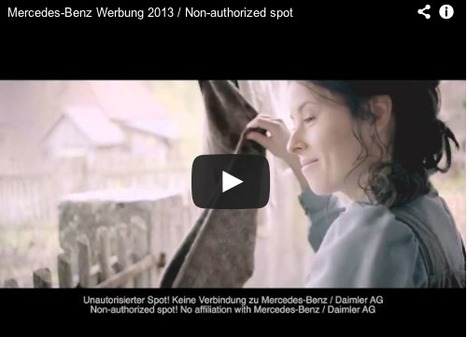 Mercedes spoof ad by film students shows car 'deflecting danger' by killing young Hitler   Art for art's sake...   Scoop.it