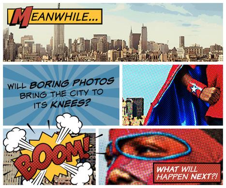 Comic Heroes Theme   PicMonkey Blog   Font Lust & Graphic Desires   Scoop.it
