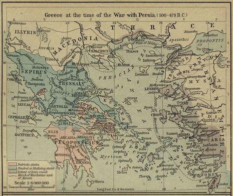 Γκραβούρες χάρτες Ευρώπης Ελλάδος απο το 362 Π.Χ | Informatics Technology in Education | Scoop.it