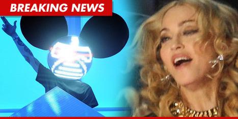 Madonna SLAMMED By Deadmau5 -- Stop ENCOURAGING Drug Use! | Sands Media | Scoop.it