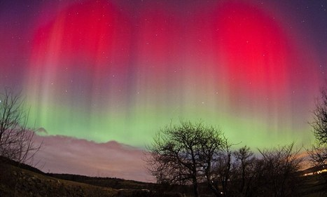 Daily Mail in Scotland  Awe-inspiring auroras: The psychedelic majesty of the Northern Lights captured in the skies over Aberdeen | Aurora | Scoop.it