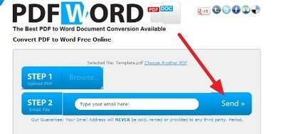 Useful Web Tool for Converting PDFs into Word | Learn by fun | Distance Ed Archive | Scoop.it