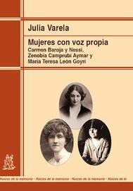 Julia Varela nos habla de su nuevo libro: Mujeres con voz propia | Ediciones Morata | Cosas que interesan...a cualquier edad. | Scoop.it