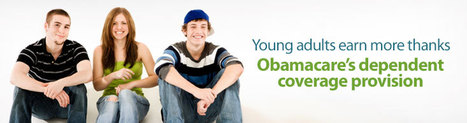 Young adults earn more thanks Obamacare's dependent coverage provision | Health News | Scoop.it