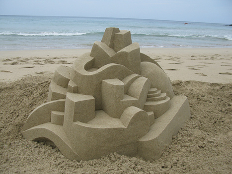 Geometric Sand Sculptures by Calvin Seibert | Real Estate Plus+ Daily News | Scoop.it