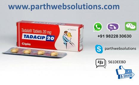Tadacip (Tadalafil) | Pharmacy Dropshipping | Scoop.it