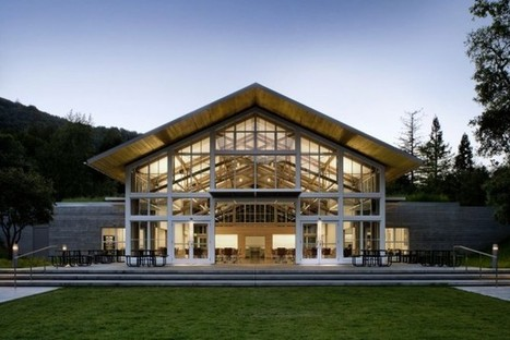 LEED Platinum: Branson School Student Commons by Turnbull Griffin Haesloop | sustainable architecture | Scoop.it