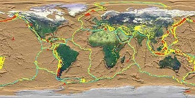 How Volcanoes Work - Volcano-tectonic Environments   Investigating Landforms and Landscapes   Scoop.it