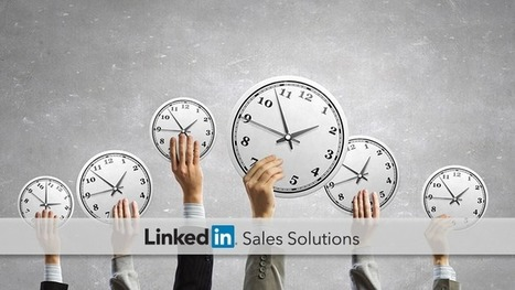 Social Selling Tips of the Week: Spend Time with the Right Prospects | Social Selling:  with a focus on building business relationships online | Scoop.it