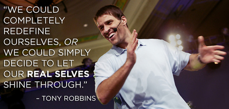 Photo de Tony Robbins dans Google+ | Inspiration | Scoop.it