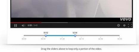infinitelooper, para reproducir un vídeo de youtube (o una parte del mismo) una y otra vez | Recursos para CLIL | Scoop.it