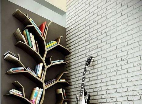 Quelques-uns des plus beaux exemples de bibliothèques à domicile, tome 2 | O.B.N.I | Scoop.it