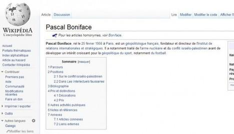 Rumeurs, désinformation et tentative de destabilisation : Wikipedia ... - Le Nouvel Observateur | Wikipédia, wikimedia et autres | Scoop.it
