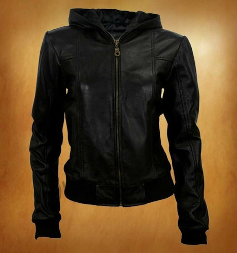 High comfort and warmth feel to wear Lifelike Black Style Women Jacket | WOMEN JACKETS | Scoop.it