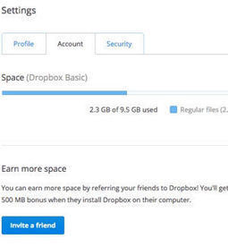 15 astuces pour faire de vous le maître de #Dropbox | Time to Learn | Scoop.it