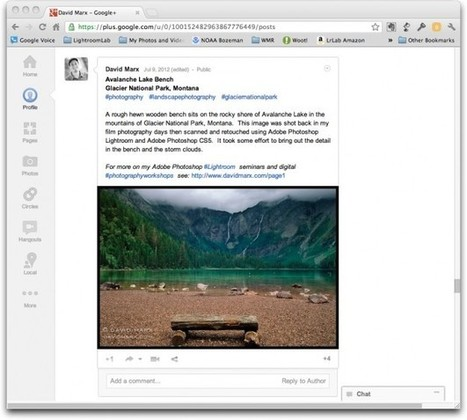 Connecting Adobe Photoshop Lightroom with the Google+ Social Media Network | Scoop Photography | Scoop.it