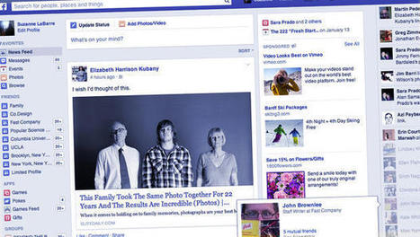 Facebook Is Testing A News Feed That Looks More Like A Newspaper | Public Relations & Social Media Insight | Scoop.it