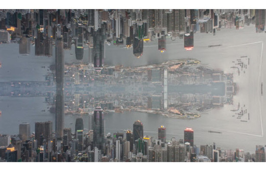 Simply Stunning! These Space Ships and Gorgeous Landscapes are Really Hong Kong Skylines!