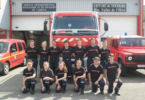 Bélesta-Fougax (09) - Pompiers : la relève est là   Sapeurs-pompiers de France   Scoop.it