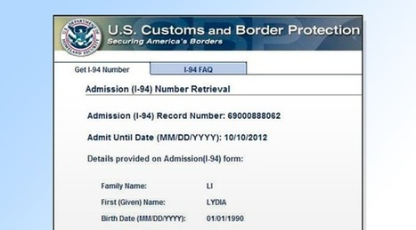 Electronic I-94 Roll out Plan   Immigration Blog - Latest Immigration & I9 compliance News : INSZoom   Immigration   Scoop.it