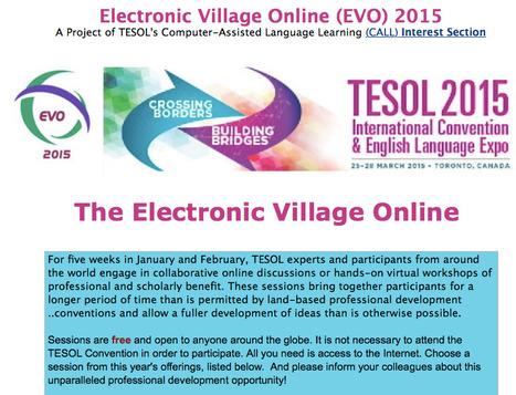 Electronic Village Online (EVO) 2015   English Language Teaching   Scoop.it
