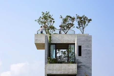 Binh House by Vo Trong Nghia Architects / Vietnam | Architecture and Interior Design | Scoop.it