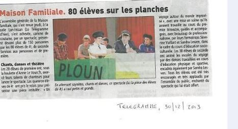 ASSEMBLEE GENERALE  : Le Télégramme - Le blog de mfr.plounevez.over-blog.com | MFR PLOUNEVEZ-LOCHRIST | Scoop.it