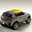 2014 Renault Kwid Concept with The Flying Companion Feature | modifycar.org | Scoop.it