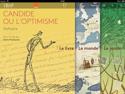 La Bibliothèque nationale de France, Orange et la Voltaire Foundation co-éditent l'application « Candide, l'édition enrichie » | Clic France | Scoop.it