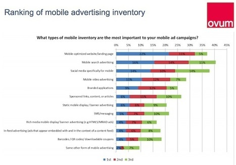 Marketers' Perceptions of Mobile Advertising | TIC & Marketing | Scoop.it