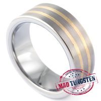 Our #tungstenrings comes with the finest and carefully cut finish | Tungsten Wedding Rings | Scoop.it