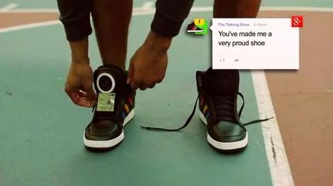 Google invente la chaussure connectée | Augmented Reality Stuff For You | Scoop.it