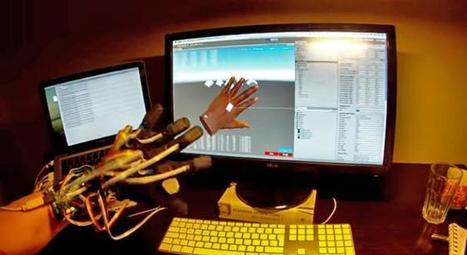Prototype Virtual Reality Glove Could Be The Perfect Companion To The Oculus Rift | cool stuff from research | Scoop.it