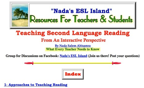 Teaching Reading from an Interactive Perspective | Teaching L2 Reading | Scoop.it