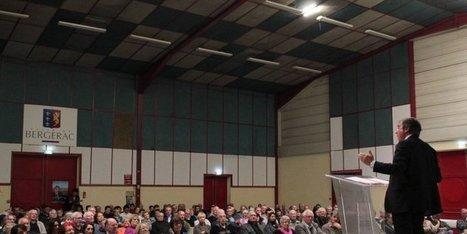 Bergerac : près de 400 personnes pour le maire sortant | Bergerac2014 | Scoop.it