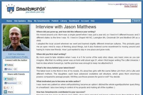 Smashwords Creates Interviews for Authors | golf instruction | Scoop.it