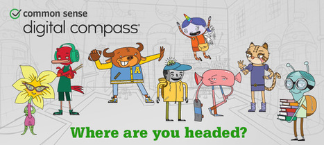 Digital Compass | Common Sense Media | Get that extra help | Scoop.it