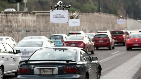 Uber's ad-toting drones are heckling drivers stuck in traffic | Vous avez dit Innovation ? | Scoop.it