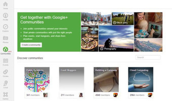 A PR Pro's Guide to Google+ Communities | HyperText | Clinquant Culture | Scoop.it