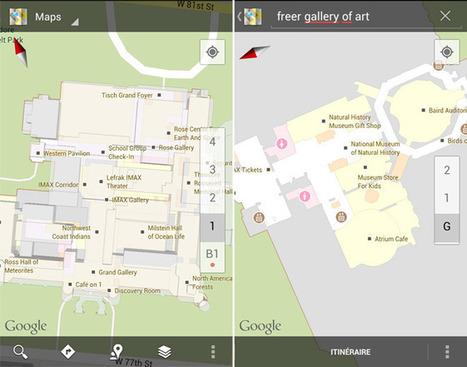 Google Maps pour Android : 20 musées américains ... - Test Mobile | Nouveautés Web, apps et musées | Scoop.it